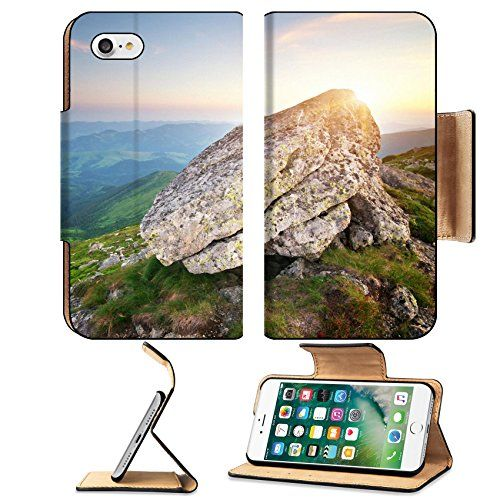 Luxlady Premium Apple iPhone 7 Flip Pu Leather Wallet Case iPhone7 IMAGE ID 25973959 Mountain landscape Composition of nature >>> Find out more about the great product at the image link.