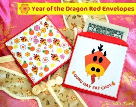 Chinese New Year Envelopes - Free Printable