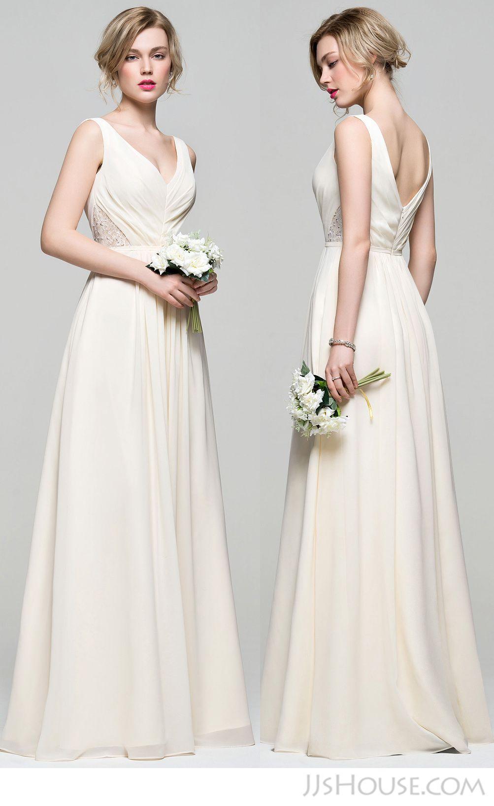 Hope Your S Will Like The V Neck Bridesmaid Dress Jjshouse Jjshousebridesmaiddress