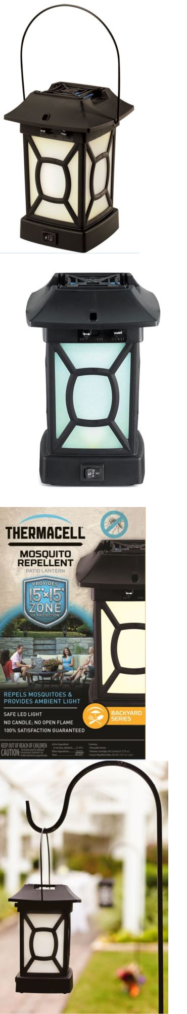 Insect Nets And Repellents 65965: Thermacell Patio Lantern, Repels  Mosquitoes, Black Flies BUY