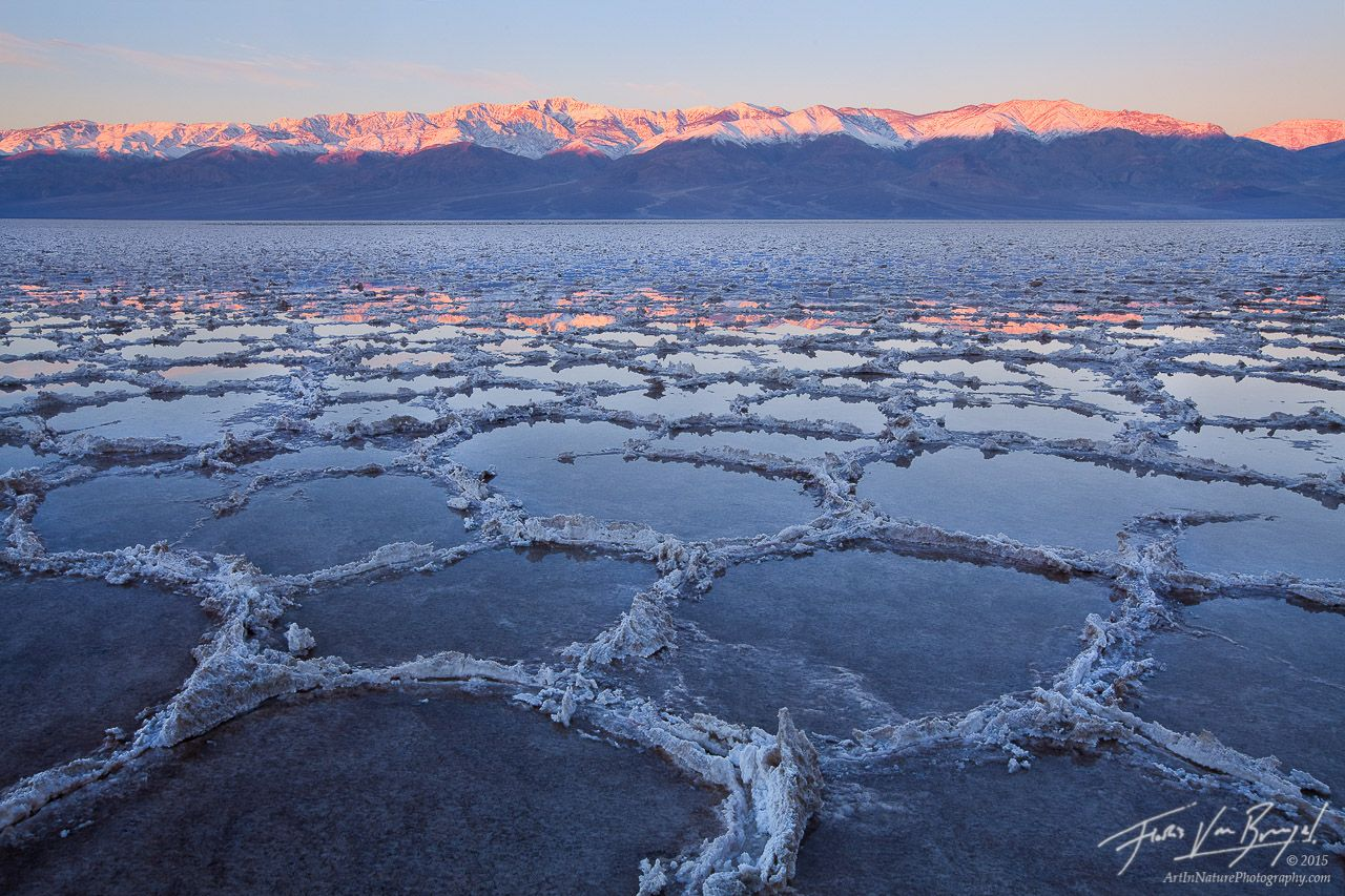 Flooded Badwater Ca Death Valley National Park Beautiful Places National Parks