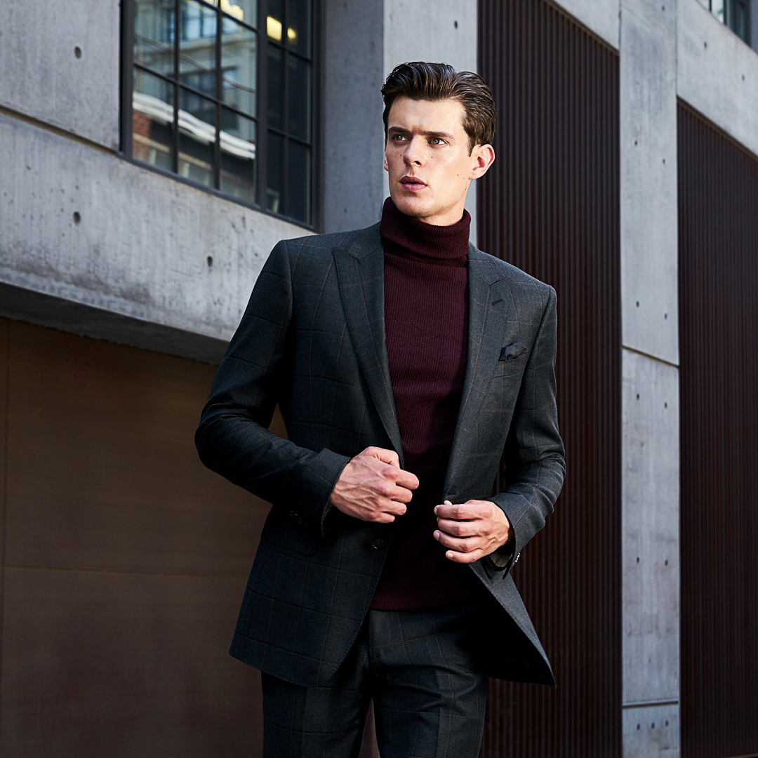 e38b62d900 How to Pull Off a Turtleneck with Suit Look with Ease  amp  ...
