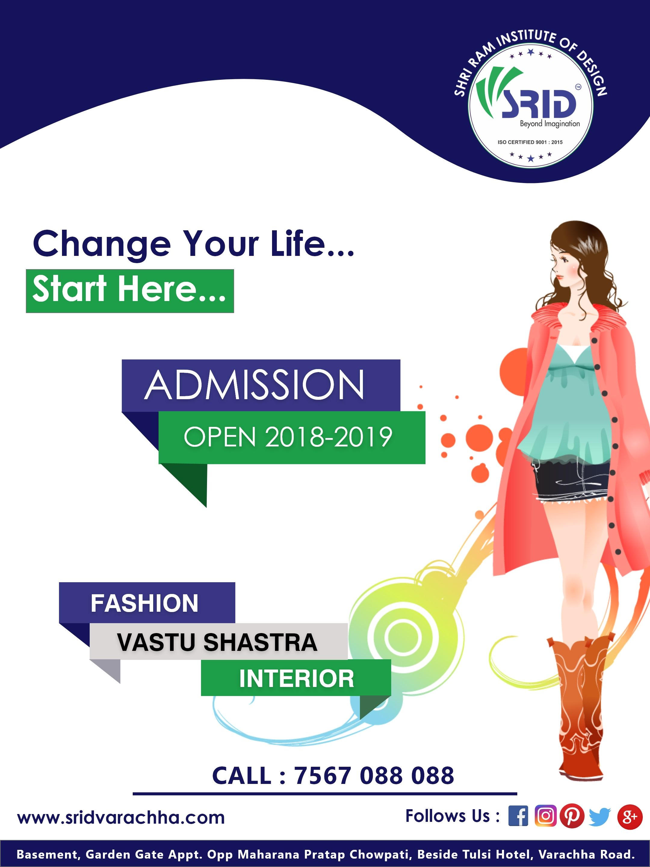 Admission Open For 2018 19 Batch Fashion Designing Interior Designing Vastu Shashtra 1st Time In Surat Visit Http W Fashion Drawing Fashion Design