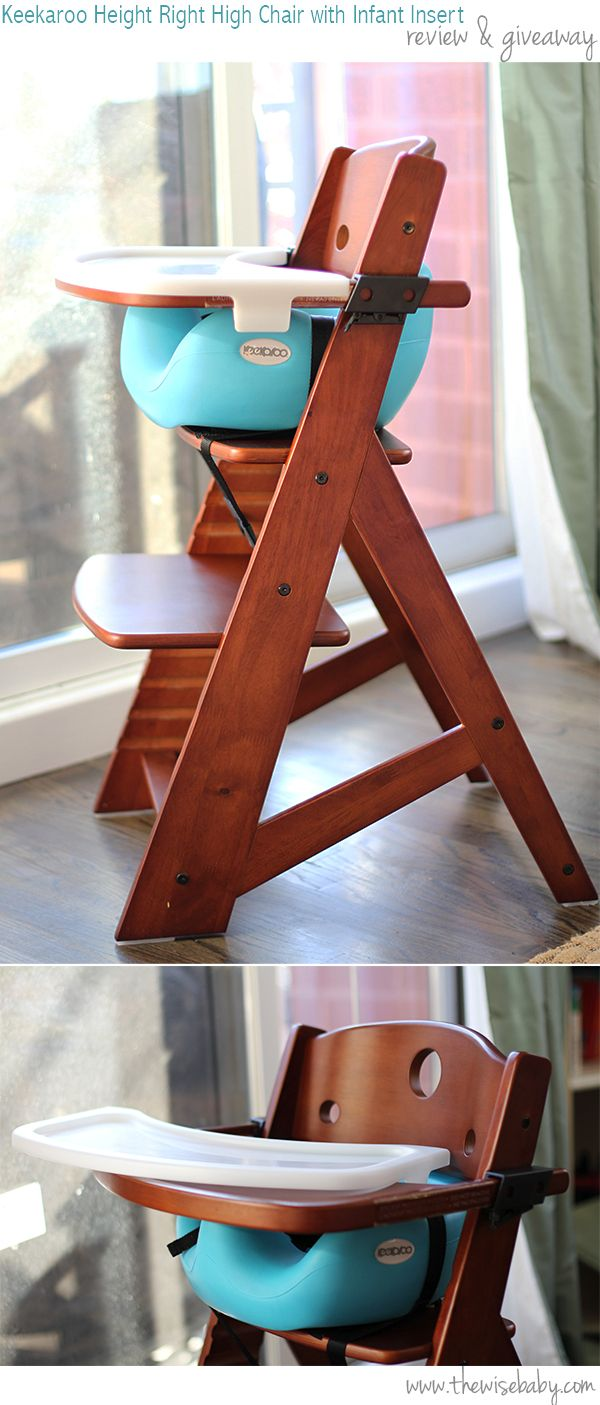 Keekaroo High Chair with Infant Insert Review & Giveaway