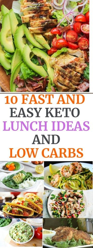 10 FAST AND EASY KETO LUNCH IDEAS - YOU CAN PARK FOR WORK images
