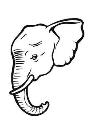Ausmalbild Elefant Mit Stosszahn Zum Ausmalen Ausmalbilder Ausmalbilderelefanten Malvorlagen Ausmalen Schule Kinde Ausmalen Elefanten Elefant