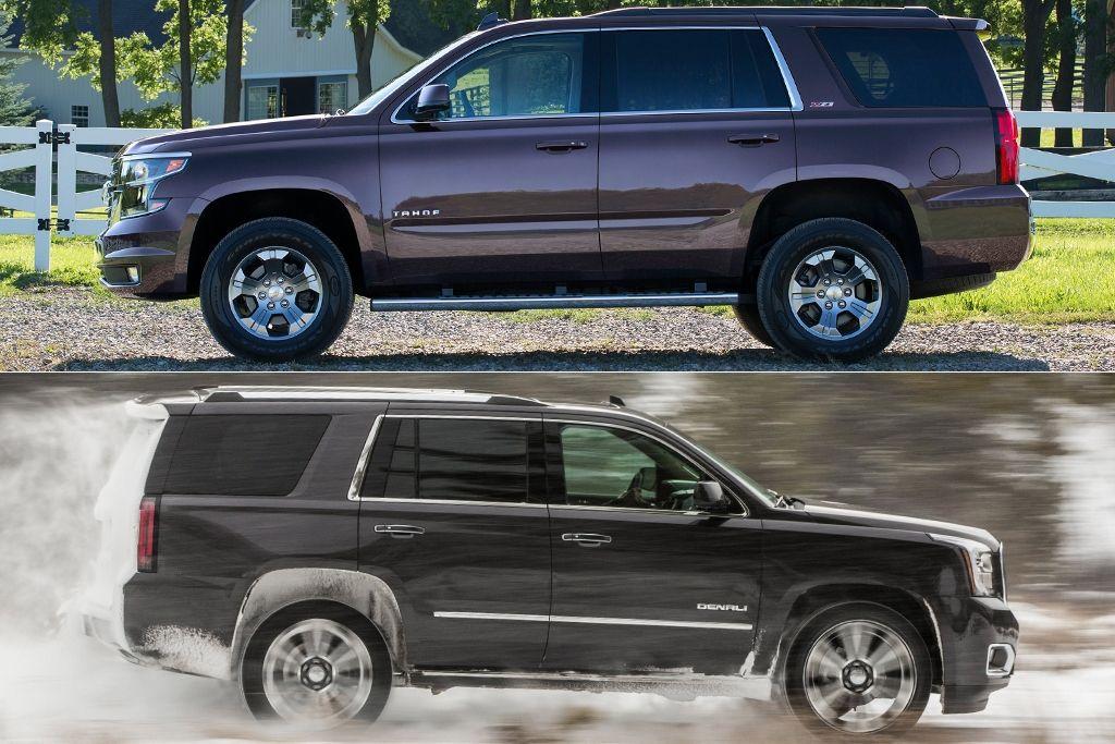 Chevrolet Tahoe Vs Gmc Yukon In 2020 Chevrolet Tahoe Gmc Yukon Chevrolet