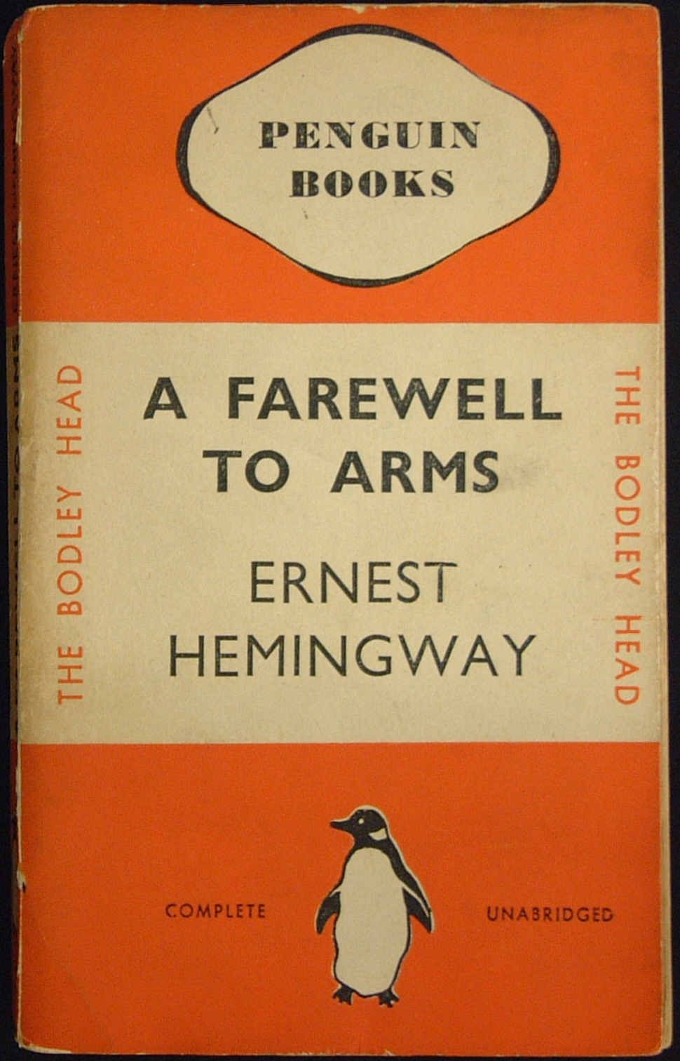 author farewell to arms