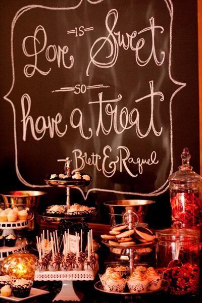 Wedding dessert bar ideas #weddingdecor #dessert #desserttable #dessertbar #weddingideas