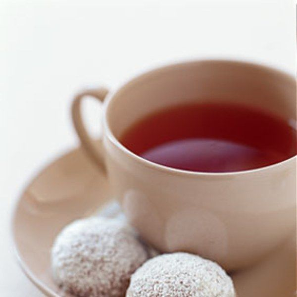These cookies, a twist on traditional snowballs, are just the thing to enjoy with a spot of tea.