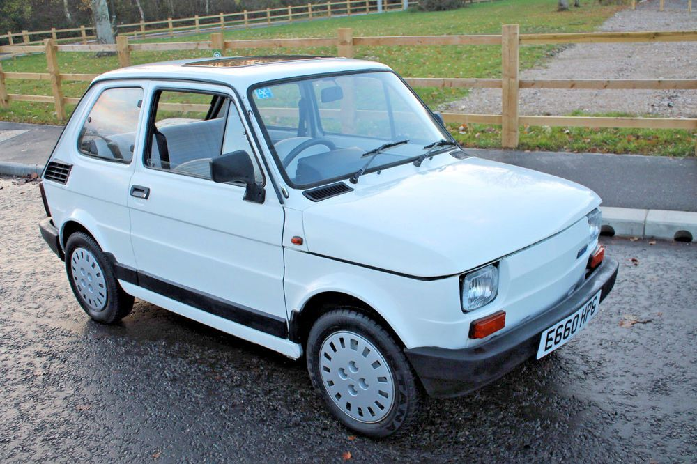Ebay 1988 Fiat 126 Bis 15 000 Miles And Presented In Excellent