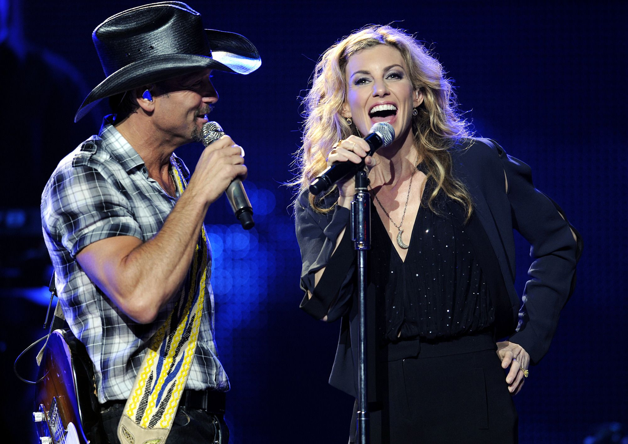 Talk about a power couple! Tim McGraw and Faith Hill won the Nashville Symphony Harmony Award, due to their endless work with promoting music in the Nashville community.