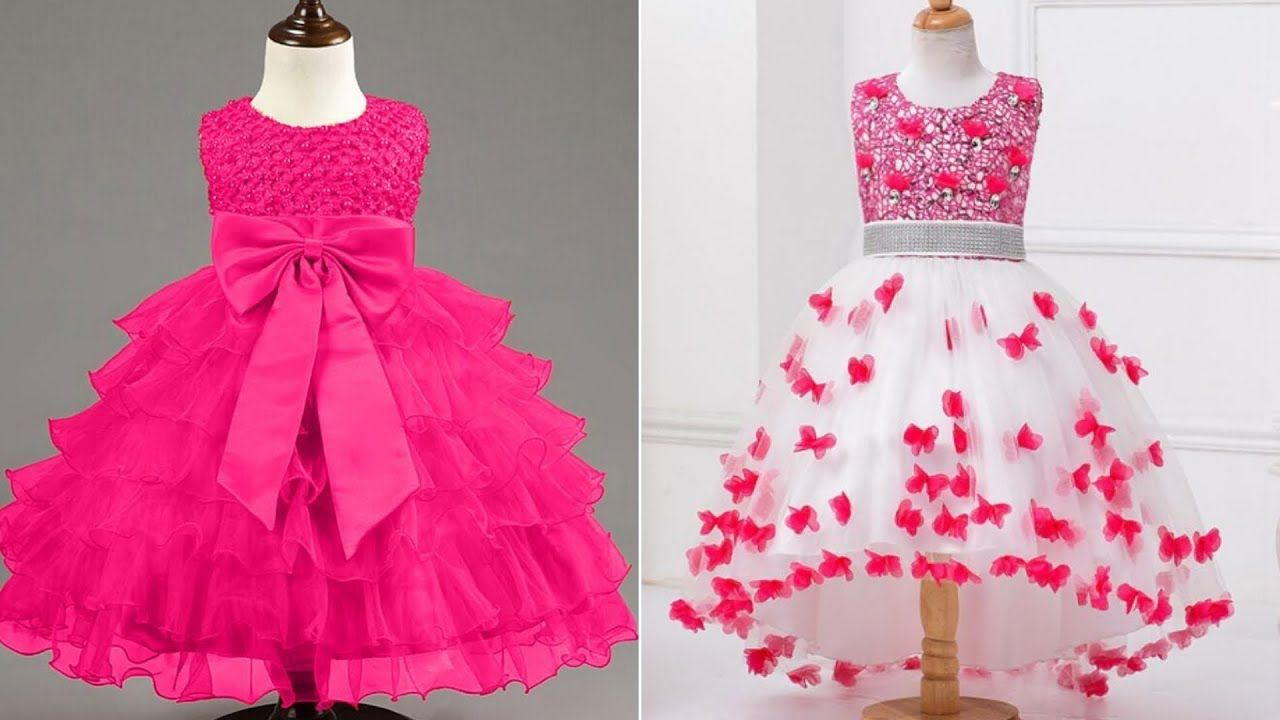 2df01d70b20f Latest Designs For Kids Gown Dresses long Frocks Of Girls 2019 ...
