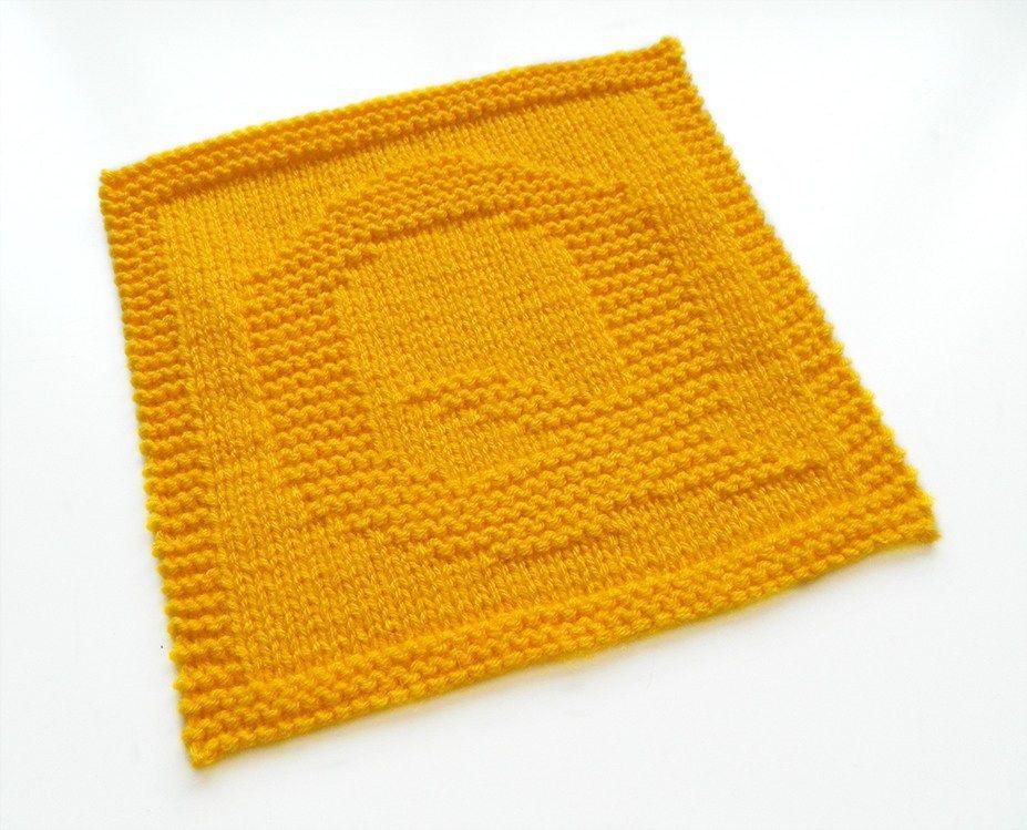 ALPHABET DISHCLOTH: Q   Knitting blogs, Dishcloth knitting ...