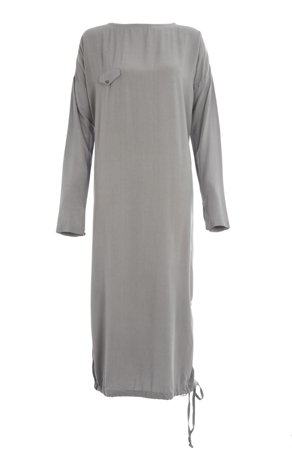Casual midi glacier grey aab hijab fashion pinterest gray