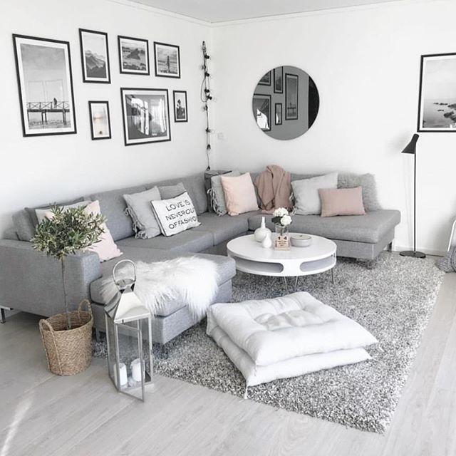 Grey Apartment Living Room Ideas: Living Room Inspo The Home Of @mykindoflike 😍 Via The