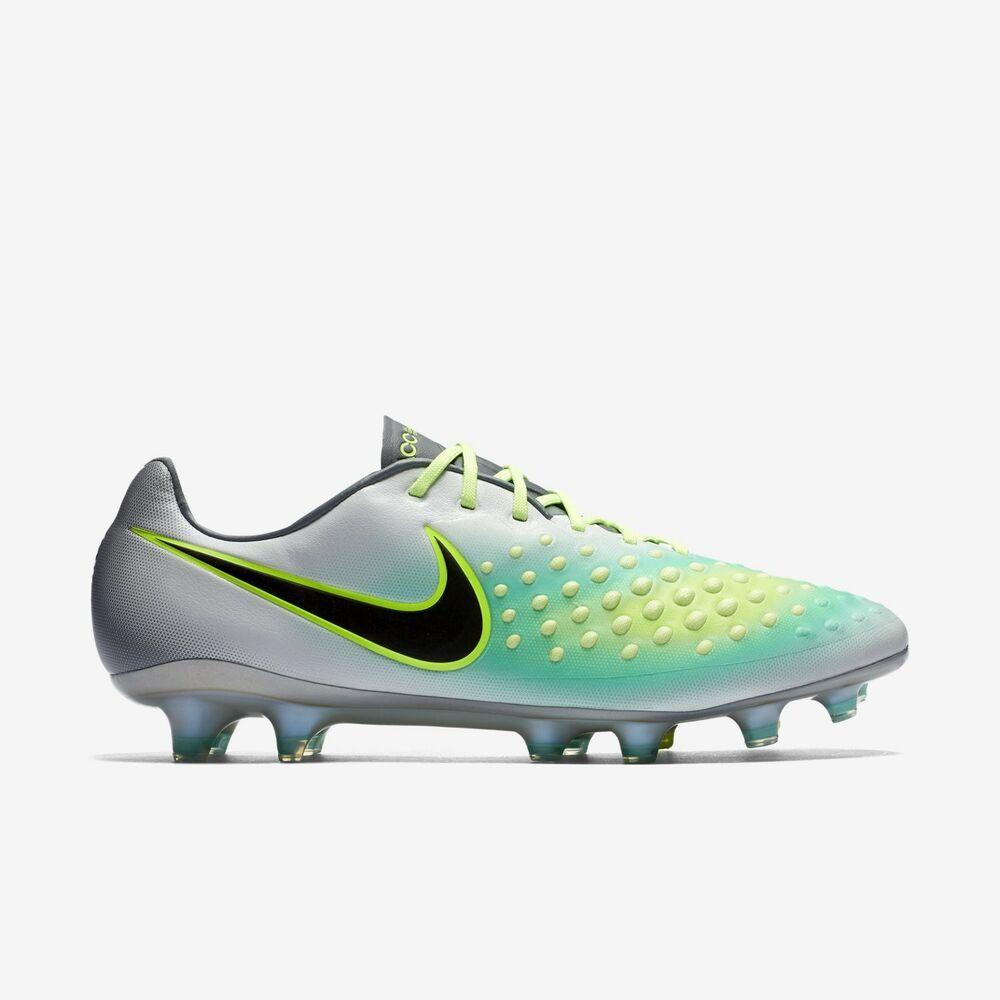 sale retailer dfb1b b2f95 eBay  Sponsored Nike Magista Opus II FG Soccer Cleats Boots Futbol Mens  Size 13 Pure Platinum