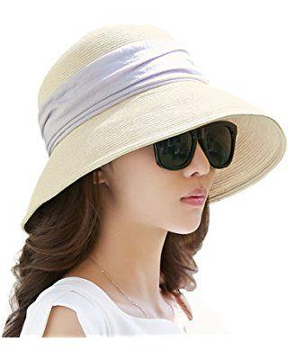 fb0721dda1d Siggi Womens UPF50 Packable Summer Sun Hat Wide Brim Flipped Up Down 56-59CM