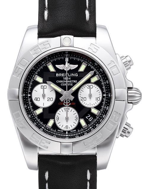 Breitling Chronomat 41 Ab014012 Ba52 429x A18d 1 Lederband Breitling Breitling Chronomat Bezel Diamond