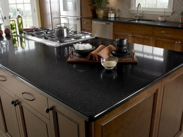 Another Look At A Mystic Black Kitchen By Zodiaq Zodiaq