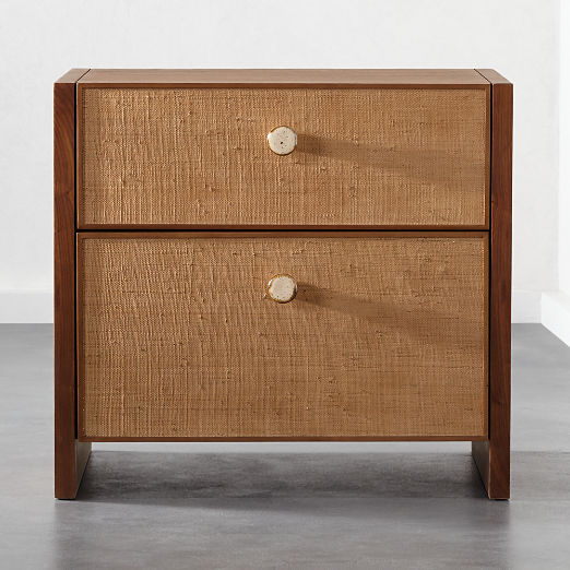Modern Nightstands And Bedside Tables Cb2 Modern Nightstand