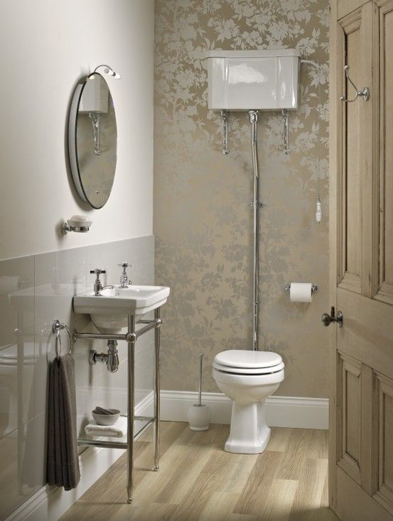 Savoy high level wc exc seat 425 for Downstairs bathroom ideas