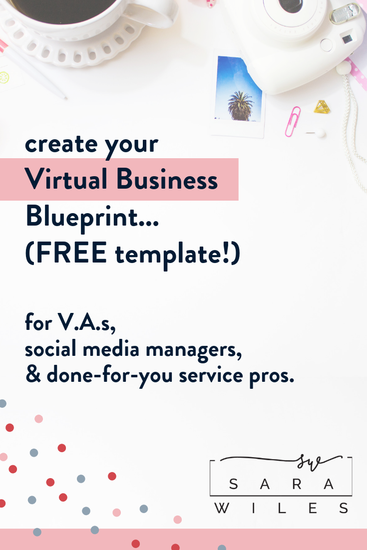 FREE Template Virtual Assistant Business Blueprint Grab