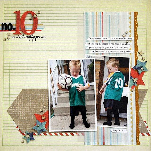 Scropping: No. 10 *Up the Street Scrapbooking*