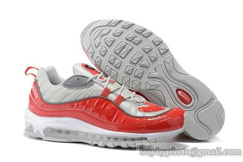 low priced 401da d8cd7 Mens Supreme x NikeLab Air Max 98 Air Max 98 Mens Supreme Sneaker Red only  US 65.00 - follow me to pick up couopons.