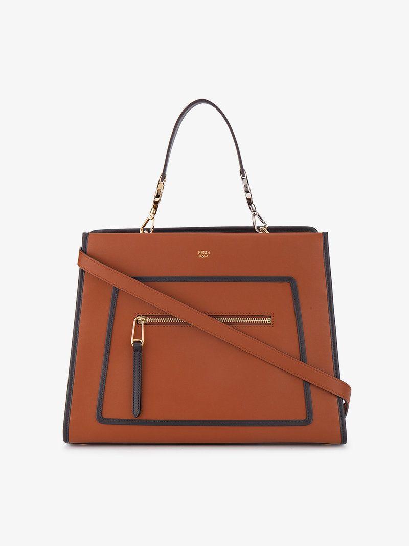 FENDI LARGE RUNAWAY BOX BAG.  fendi  bags  shoulder bags  hand bags   leather   abdcee33eb208