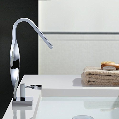 Homelody Design Waschbecken Wasserhahn Mischbatterie Spu Ein