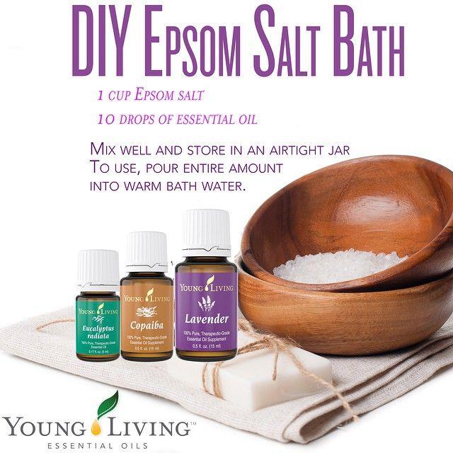 Pamper Yourself With An Epsom Salt Bath Diy Instructions