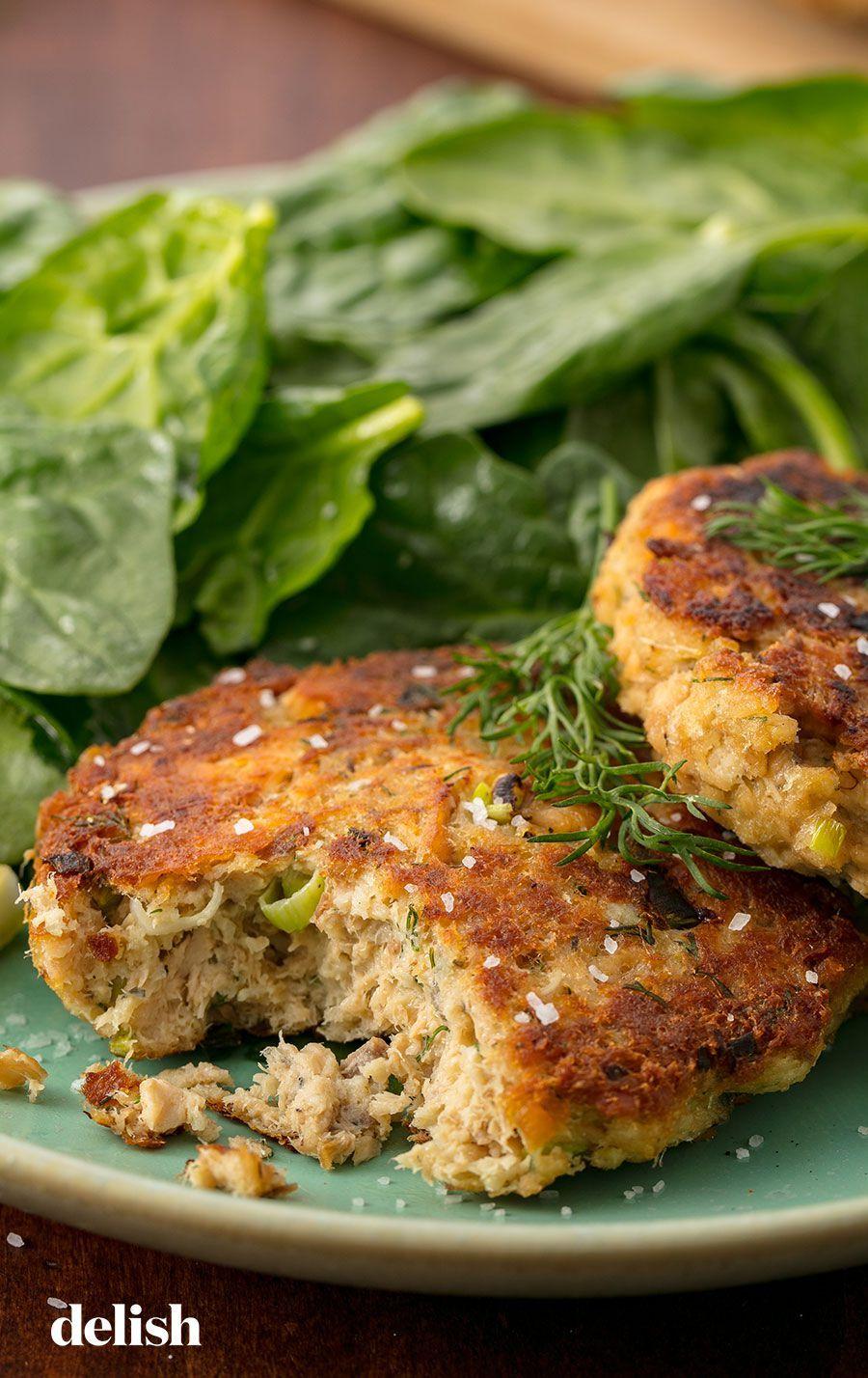 Best Ever Salmon Patties Recipe Get In My Belly Jedzenie