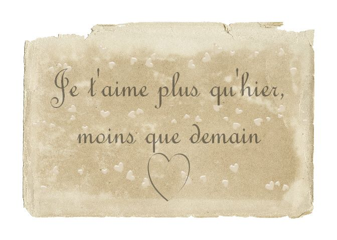 French Love Phrases With English Translation English ...
