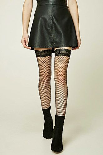 352c046f984c7 Fishnet Over-The-Knee Socks | ♡Women's Fashion♡ in 2019 | Over ...
