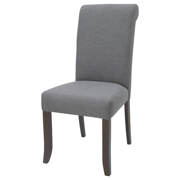 Accent Chair Grey Bench Brown Legs: IKEA GRUVBYN Brown, Nordvalla Dark Gray Chair In 2019