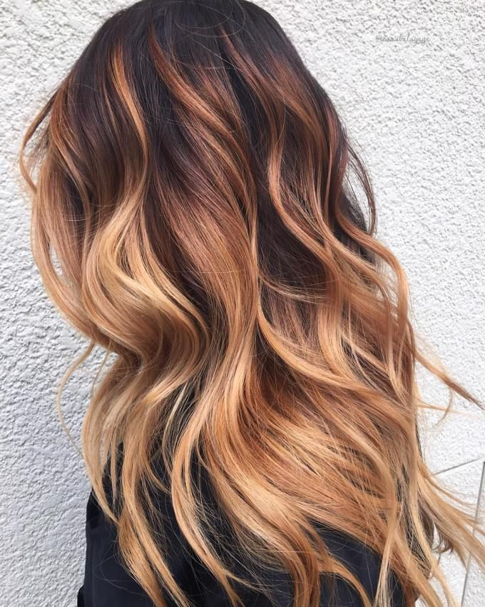 50 Beautiful Hairstyles with Caramel Highlights – Hair Adviser