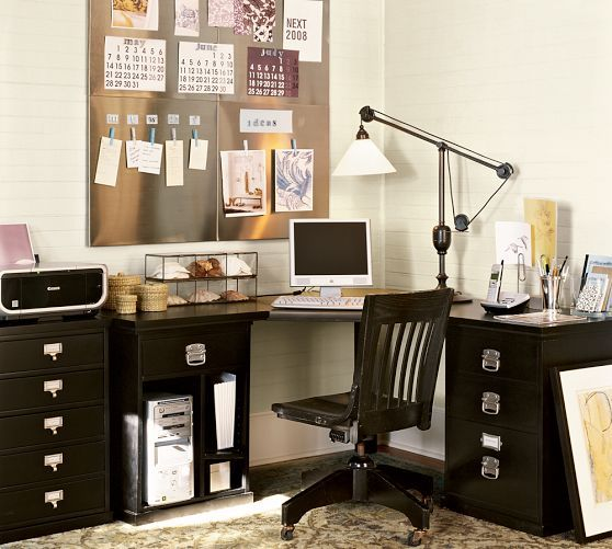 Bedford Corner Desk Corner Desk Desk Set Desk