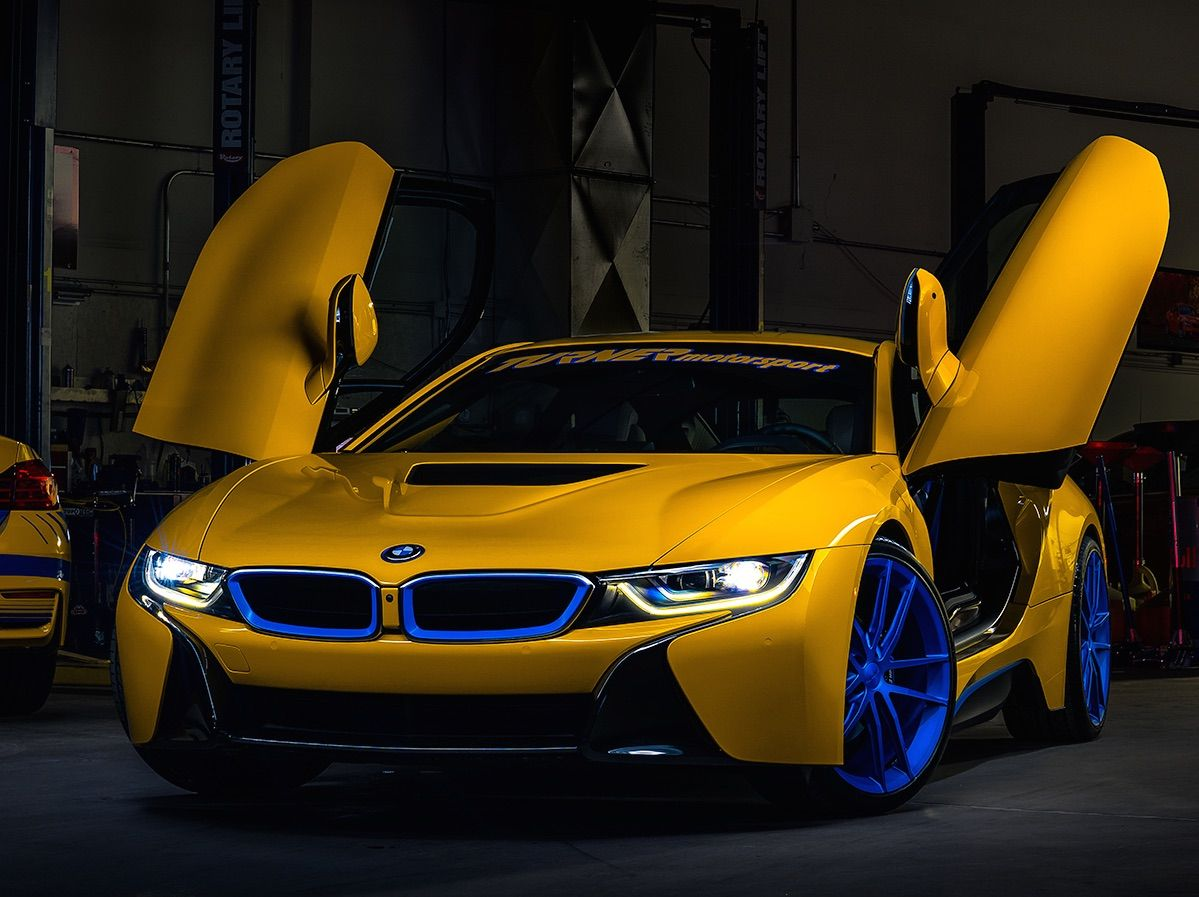 Turner Motorsport's New BMW I8 Project Is Already Equipped