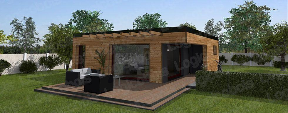 Afficher l 39 image d 39 origine atelier pinterest maisons for Modele maison pas cher