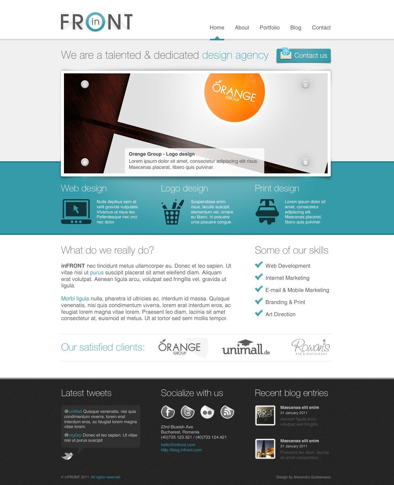 Clean Web Design Web Design