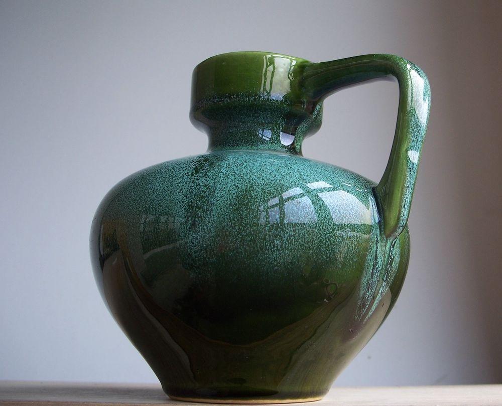 Vintage 1960s 1970s silberdistel keramik german pottery jug vase vintage 1960s 1970s silberdistel keramik german pottery jug vase fat lava period reviewsmspy