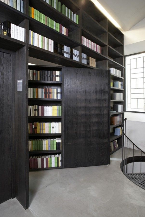 I wan my future house library to be like this.