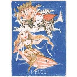 Paolo Fresu, I Pesci Serigrafia #gliartistidiGALP #nelsegnodiGALP