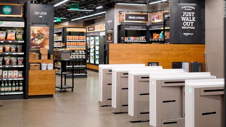 Inside Amazon Go: the store of the future   Cheap car ...