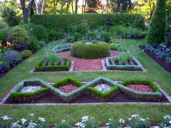 Formal Herb Garden Garden Planning Herb Garden Annual Garden