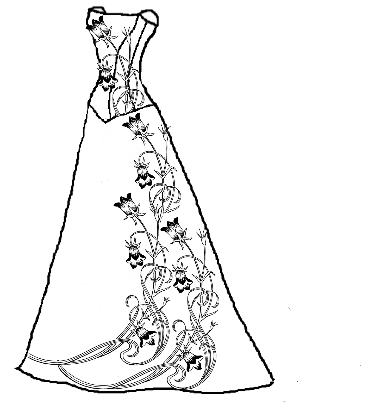Wedding Dress This Pin Just Goes To Her Blog Not Original Post Images To Color
