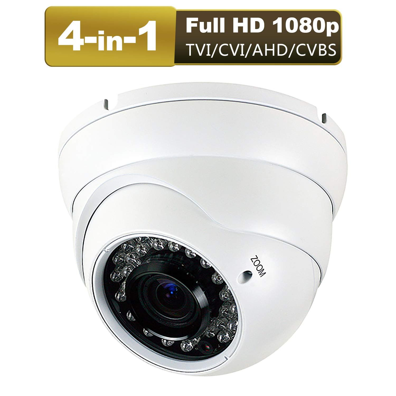 AHD CVI TVI  Security CCTV HD 1080P Camera 4X Optical Zoom PTZ Waterproof IR 30M