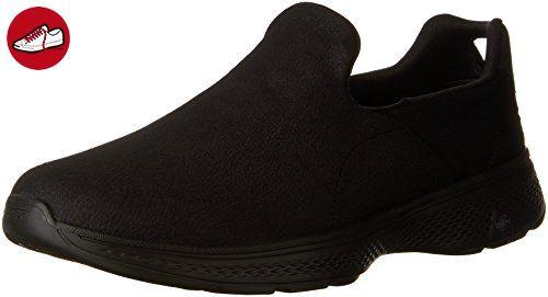 Go Walk 4 Herren 54154 Schwarz BBK Running Sneaker, Größe:43;Farbe:schwarz Skechers