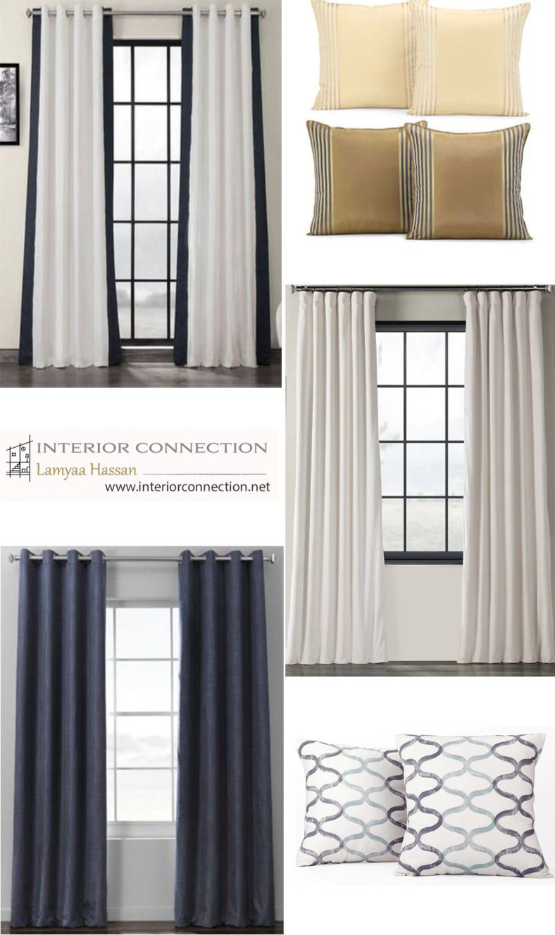 How To Choose Curtains Throws And Pillows Luxury Living Room Curtains Living Room Eclectic Interior Design
